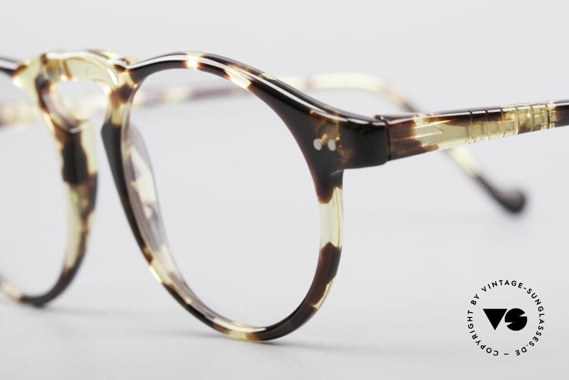 Persol 750 Ratti 80er Panto Brille, flexible Bügel und beste Verarbeitung; made in Italy, Passend für Herren und Damen