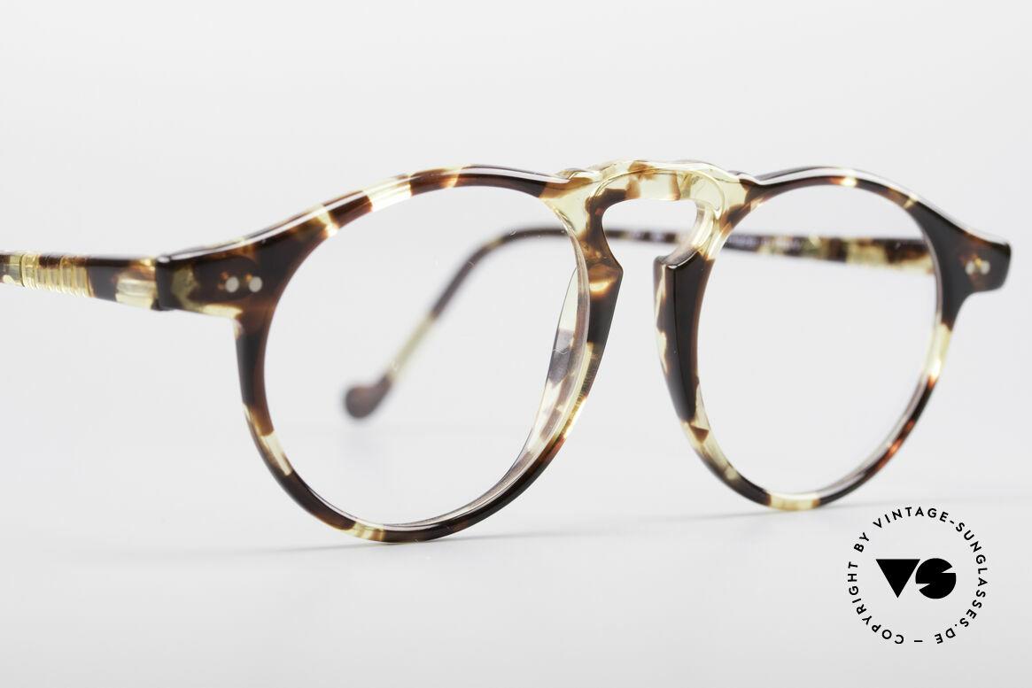 Persol 750 Ratti 80er Panto Brille, 125mm Breite = eher für schmale Gesichter geeignet, Passend für Herren und Damen