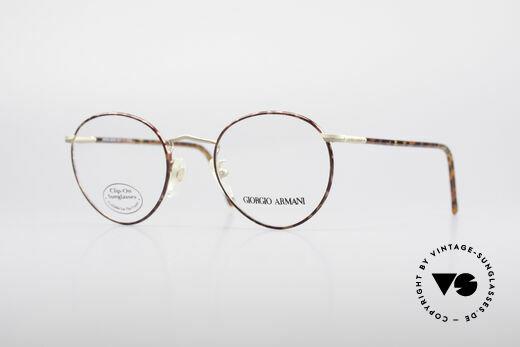 Giorgio Armani 186 Zeitlose 90er Pantobrille Details