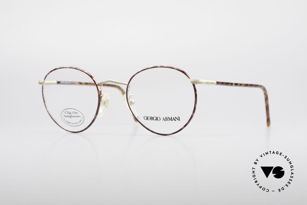 Giorgio Armani 186 Zeitlose 90er Pantobrille
