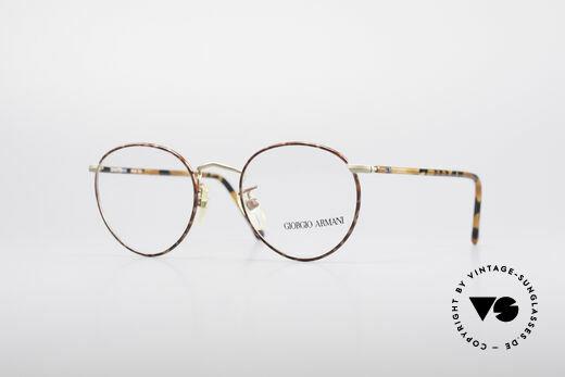 Giorgio Armani 138 Panto Vintage Brille Details