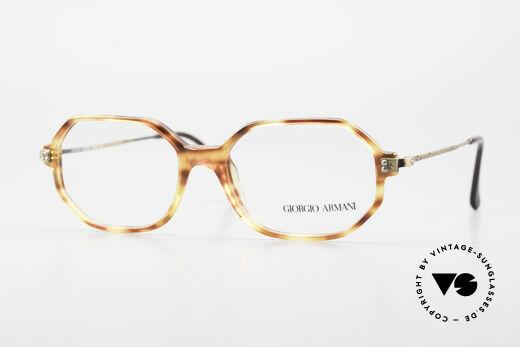 Giorgio Armani 349 No Retro Brille Vintage Brille Details