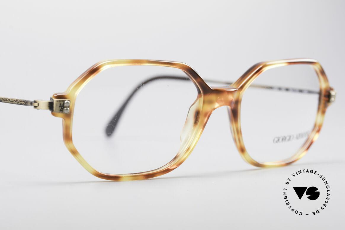 Giorgio Armani 349 Achteckige Vintage Brille