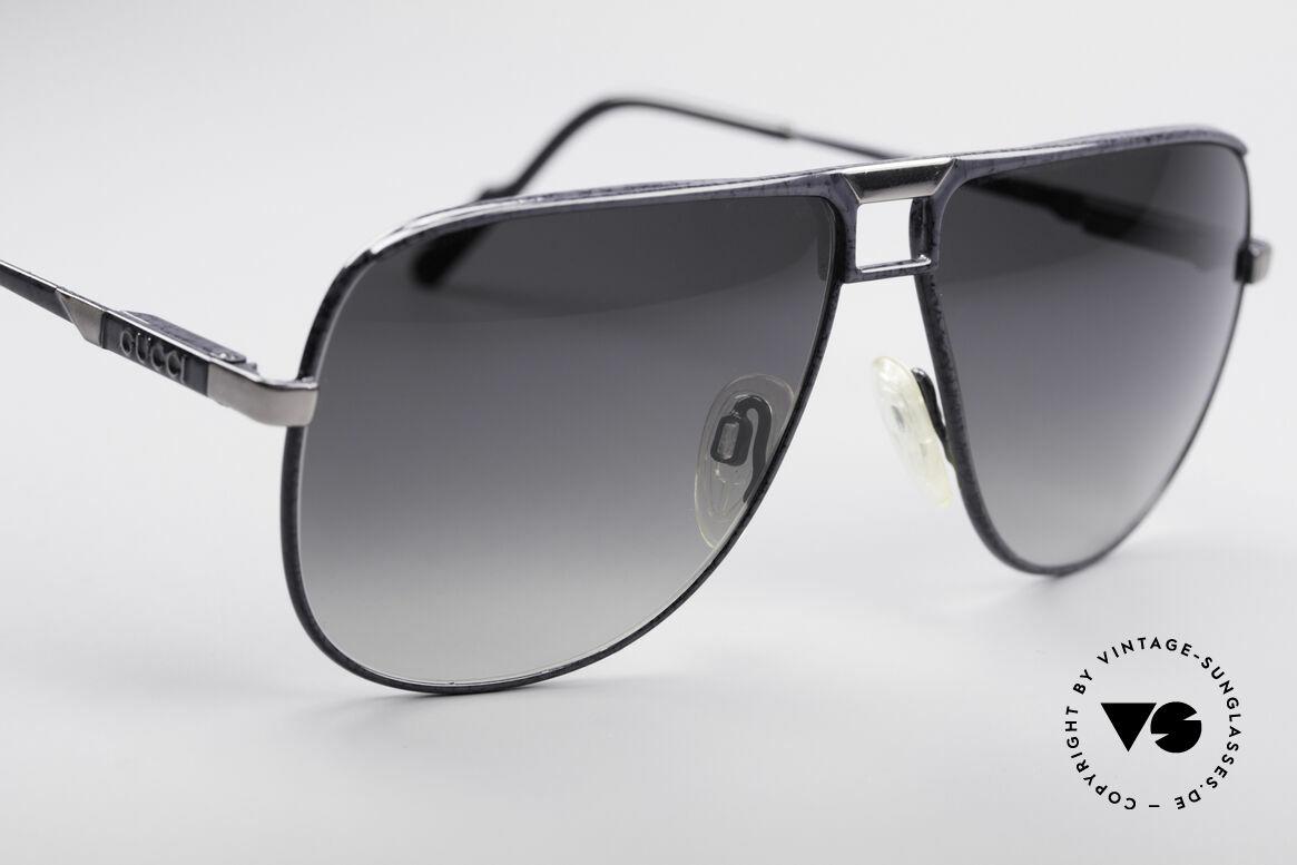 Gucci 1206 80er Designer Herrenbrille, KEINE Retrobrille, sondern 100% vintage ORIGINAL, Passend für Herren