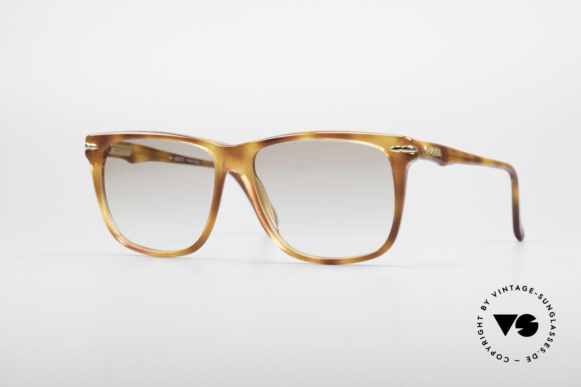 Gucci 1115 Klassische 80er Sonnenbrille, klassische vintage Designer-Sonnenbrille von Gucci, Passend für Herren