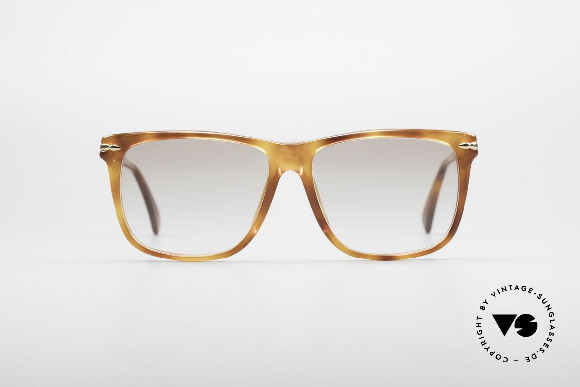 Gucci 1115 Klassische 80er Sonnenbrille, zeitloses 80er Modell mit elegantem Rahmenmuster, Passend für Herren