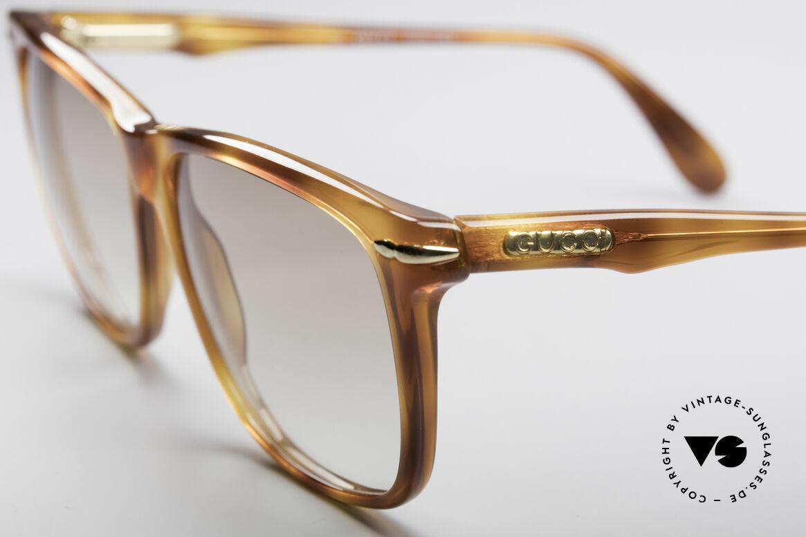 Gucci 1115 Klassische 80er Sonnenbrille, ungetragen (wie alle unsere vintage GUCCI Brillen), Passend für Herren