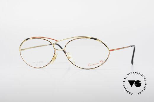 Casanova LC13 24kt Vergoldete Brille Details