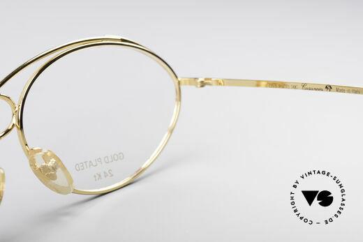 Casanova LC13 24kt Vergoldete Brille, KEINE Retrobrille, sondern ein einzigartiges ORIGINAL, Passend für Damen