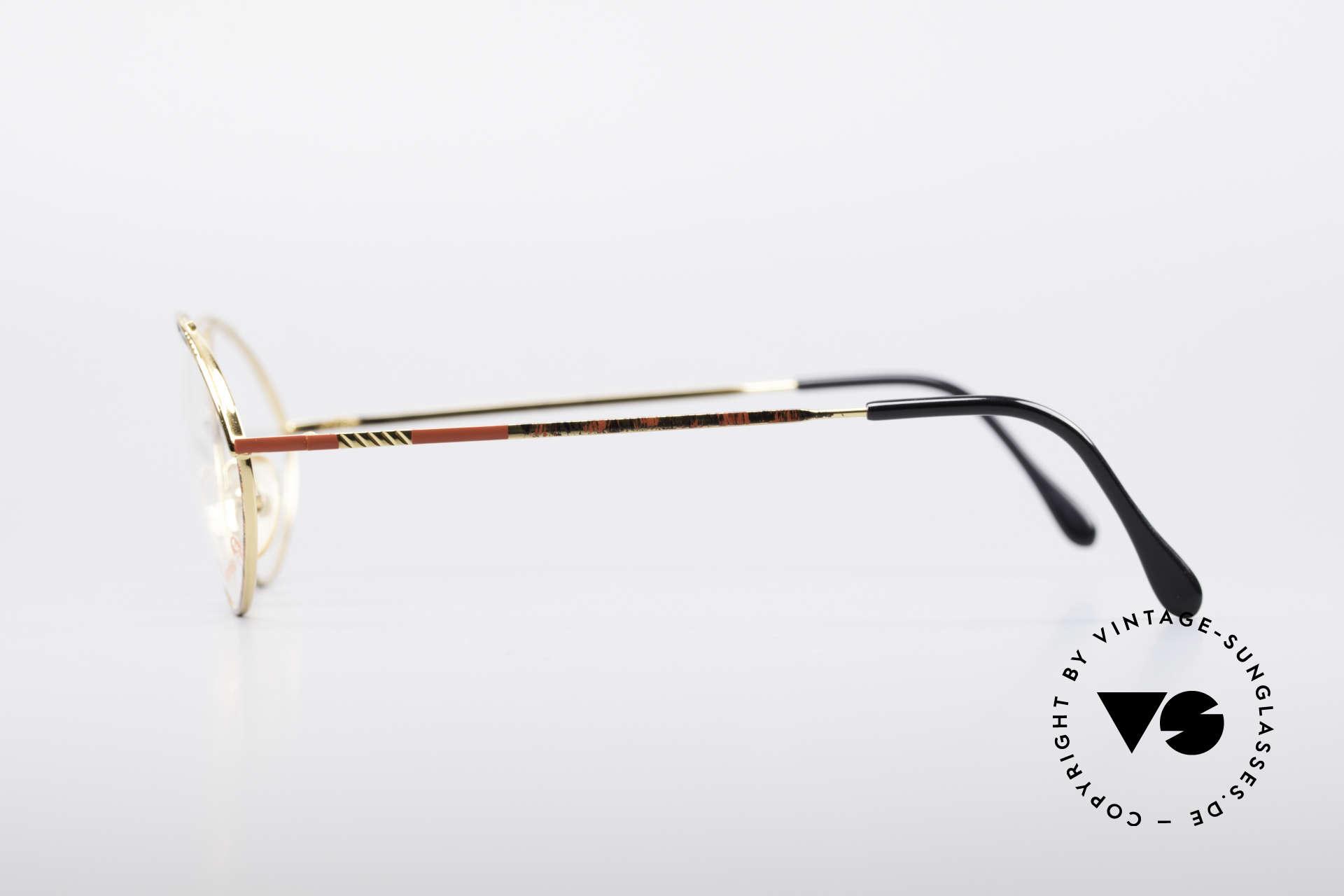 Casanova LC13 24kt Vergoldete Brille, Größe: medium, Passend für Damen