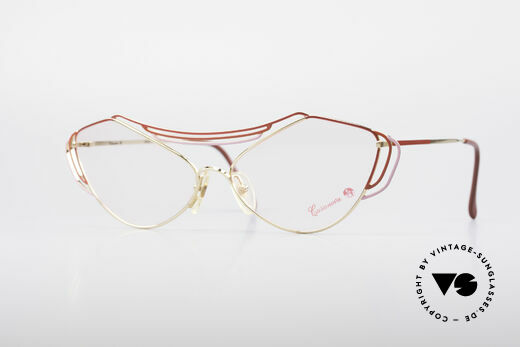 Casanova LC9 80er Kunst Brillenfassung Details