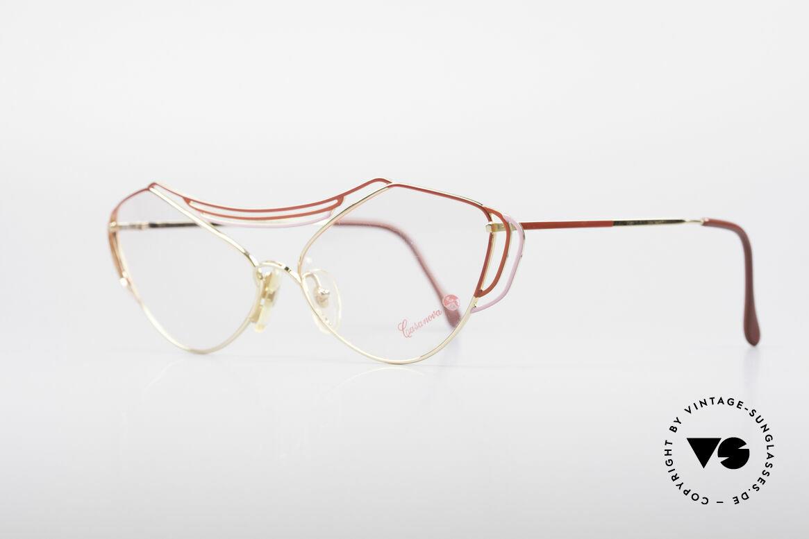 Casanova LC9 80er Kunst Brillenfassung