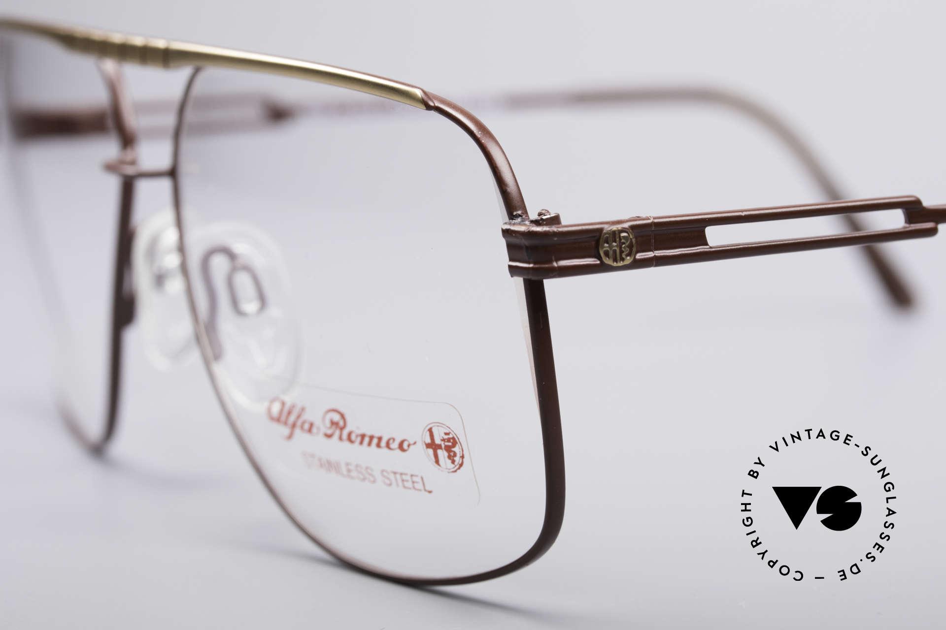 """Alfa Romeo 60-252 80er Vintage Brille, ein wahres """"MUST HAVE"""" für jeden begeisterten Alfisti!, Passend für Herren"""