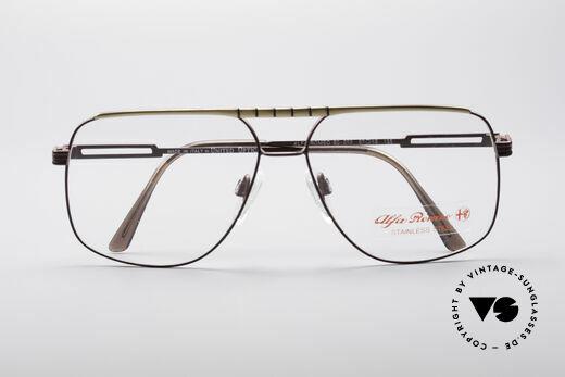 Alfa Romeo 60-252 80er Vintage Brille, KEINE Retromode; sondern ein altes Original von 1987!, Passend für Herren