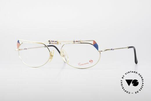 Casanova FC16 Kunstvolle Vintage Brille Details