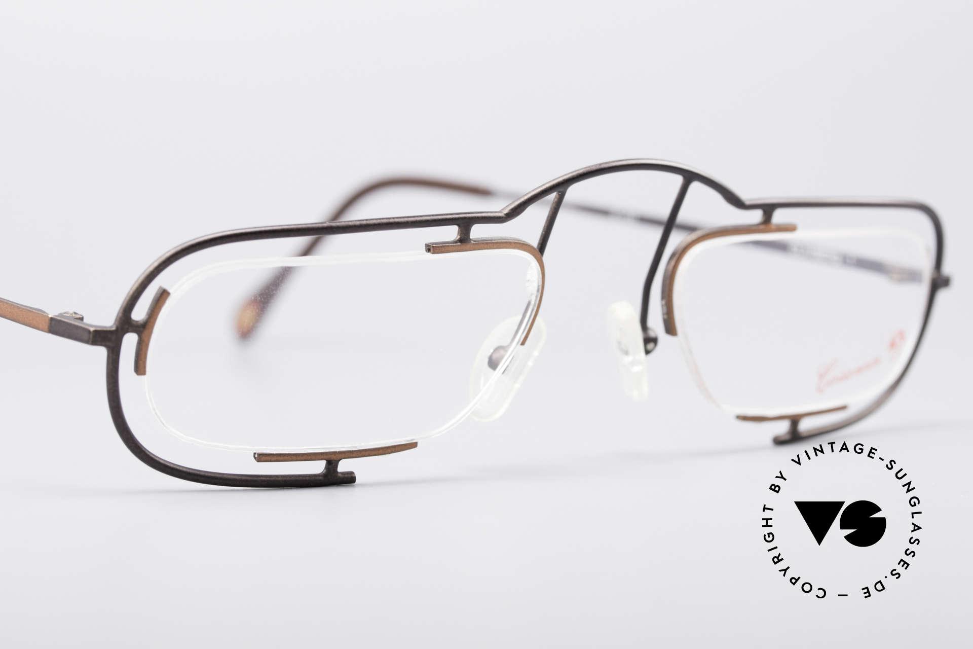 Casanova Clayberg Seltene Vintage Brille 80er, KEINE RETROBRILLE, sondern ein 80er ORIGINAL, Passend für Herren und Damen