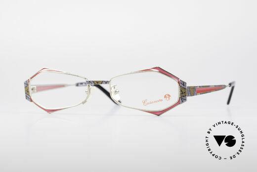 Casanova LC54 Damen Vintage Brille Details