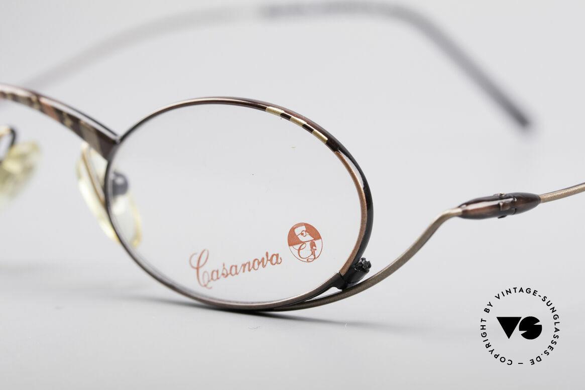 Casanova LC44 80er Vintage Lesebrille, Kunst und Funktionalität treffen hier aufeinander, Passend für Herren und Damen