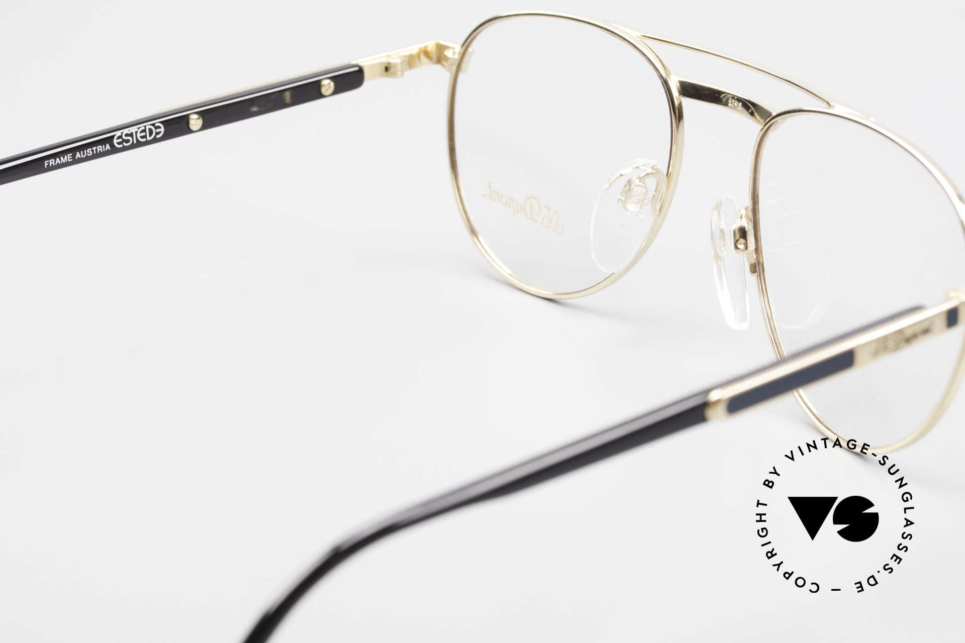 S.T. Dupont D004 90er Luxus Pilotenbrille Herren, KEINE Retrobrille; ein kostbares 90er Jahre ORIGINAL, Passend für Herren