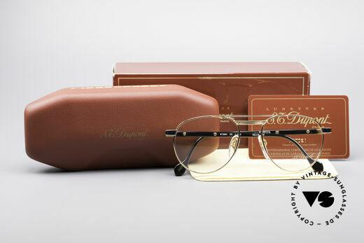 S.T. Dupont D004 90er Luxus Pilotenbrille Herren, Größe: small, Passend für Herren