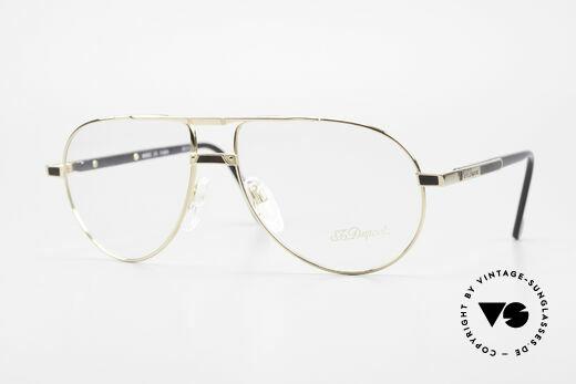 S.T. Dupont D023 Luxus Brillen Fassung Herren Details