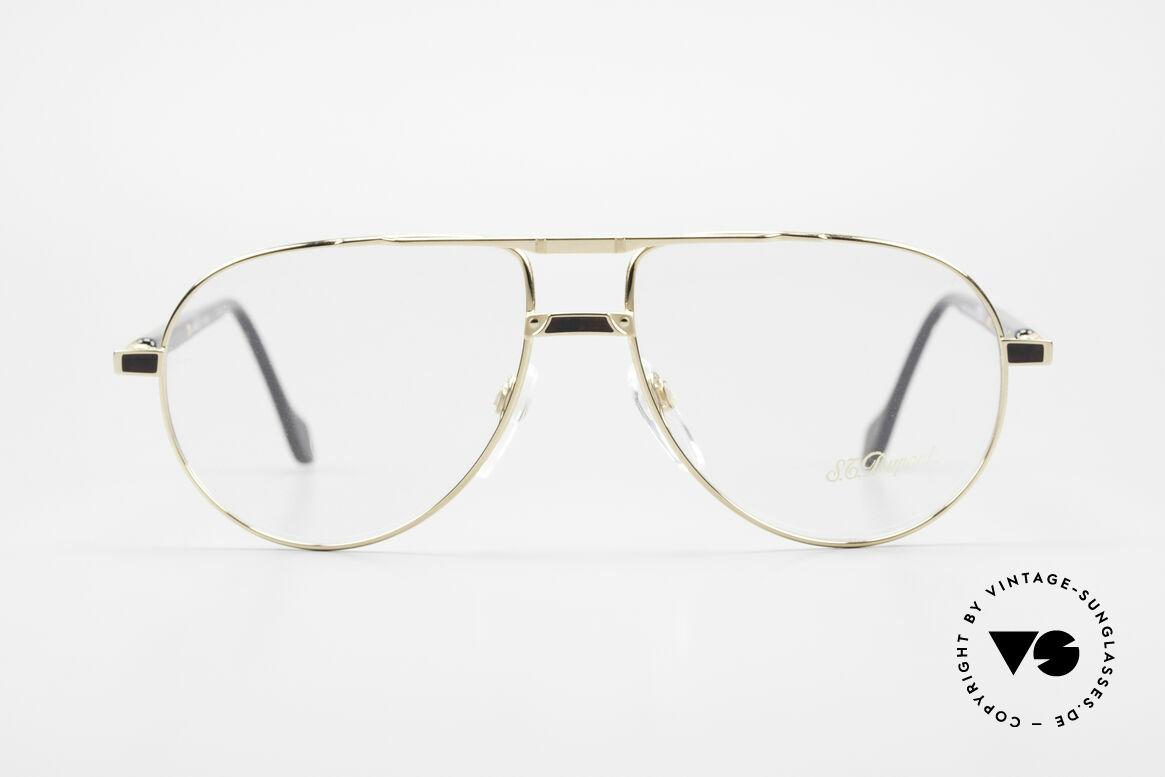 S.T. Dupont D023 Luxus Brillen Fassung Herren, sehr exklusive und kostbare S.T. Dupont Luxus-Brille, Passend für Herren
