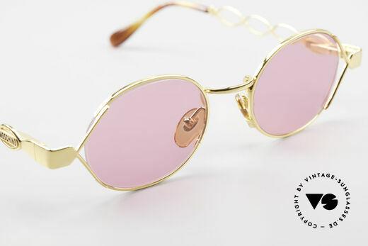 Moschino MM334 Designer Damen Brille Pink, KEINE RETROBRILLE; ein schönes altes ORIGINAL!, Passend für Damen