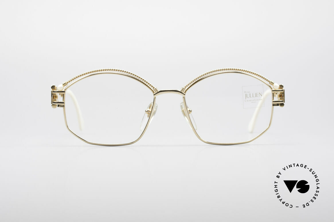 Henry Jullien Cizeta Juwelen Goldbrille, vintage Henry Jullien Cizeta Juwelier-Brillenfassung, Passend für Damen