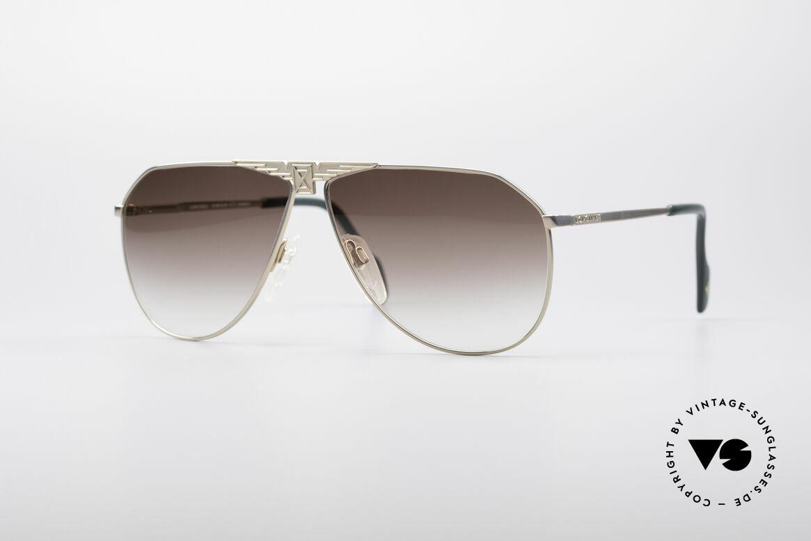 Longines 0150 Echte Vintage Pilotenbrille, hochwertige vintage Sonnenbrille von LONGINES, Passend für Herren