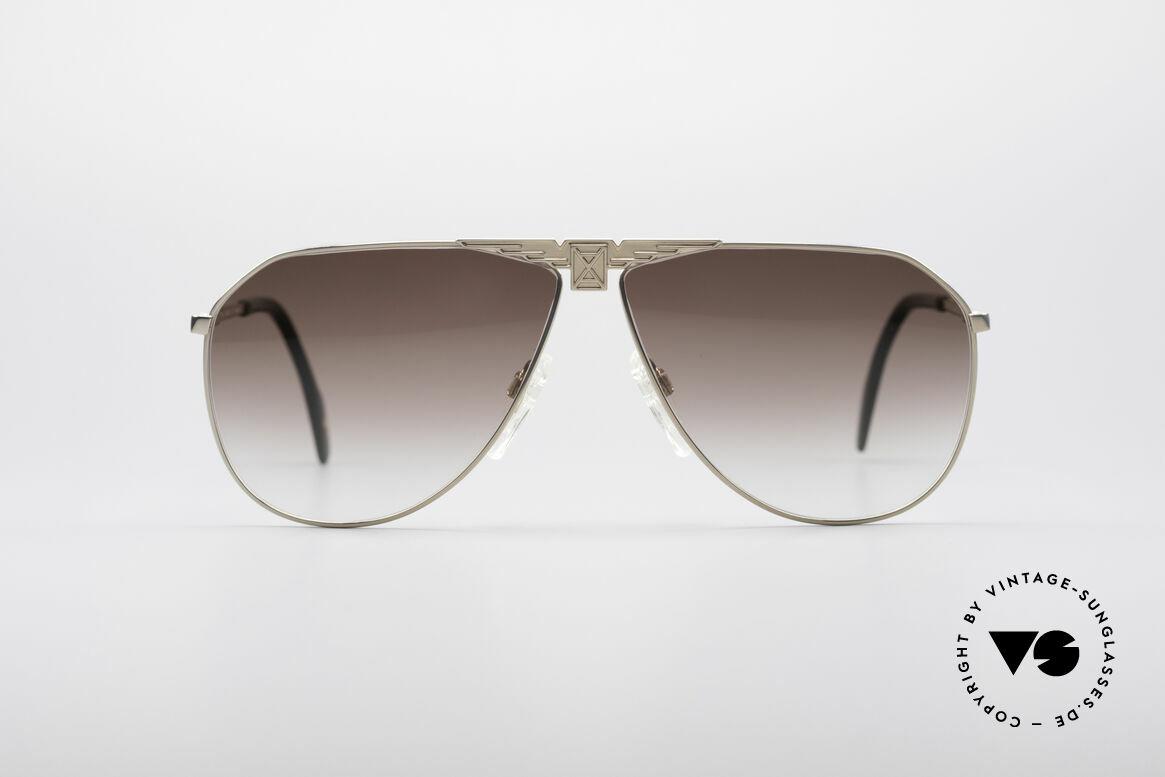 Longines 0150 Echte Vintage Pilotenbrille, sehr edler Rahmen mit flexiblen Federscharnieren, Passend für Herren