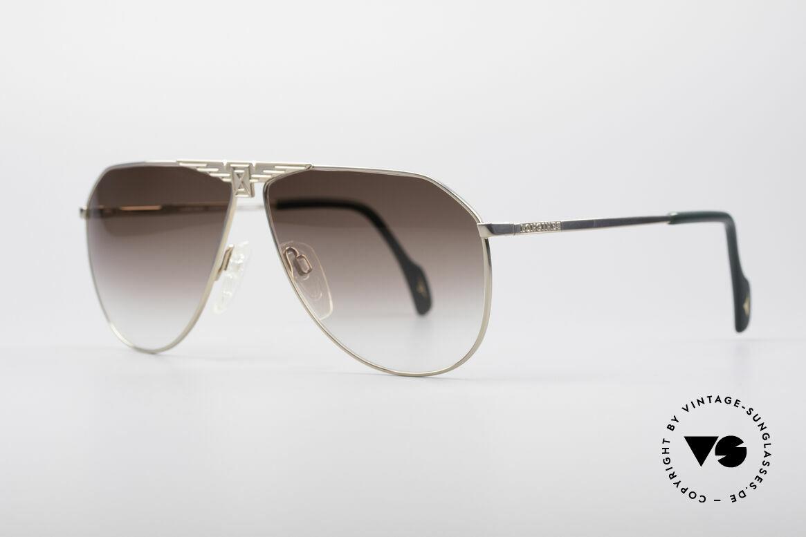 Longines 0150 Echte Vintage Pilotenbrille, für Longines im Traditionshaus Metzler produziert, Passend für Herren