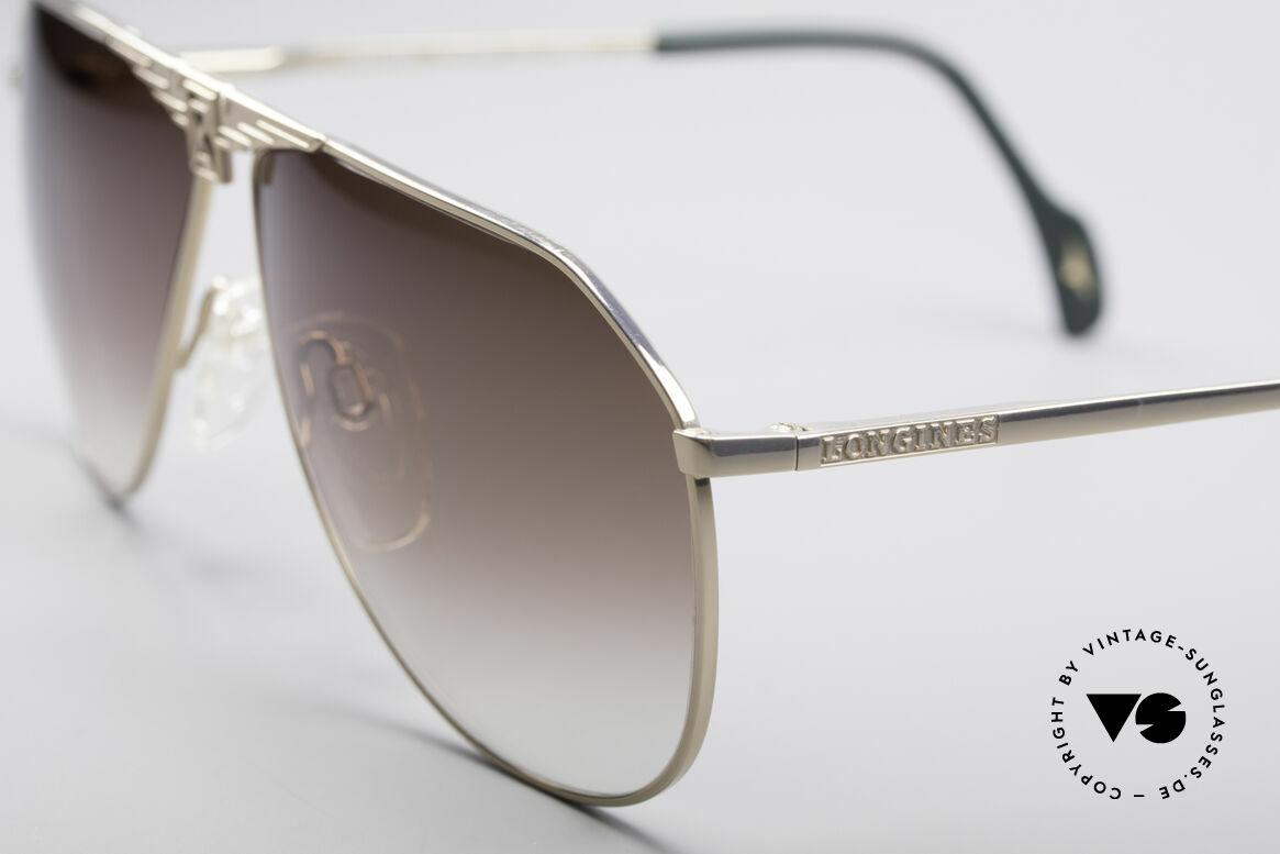 Longines 0150 Echte Vintage Pilotenbrille, Premium-Qualität und markant (mal 'was anderes'), Passend für Herren