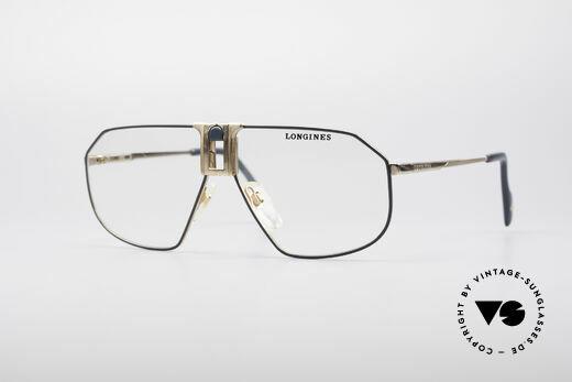 Longines 0153 80er Luxus Herrenbrille Details
