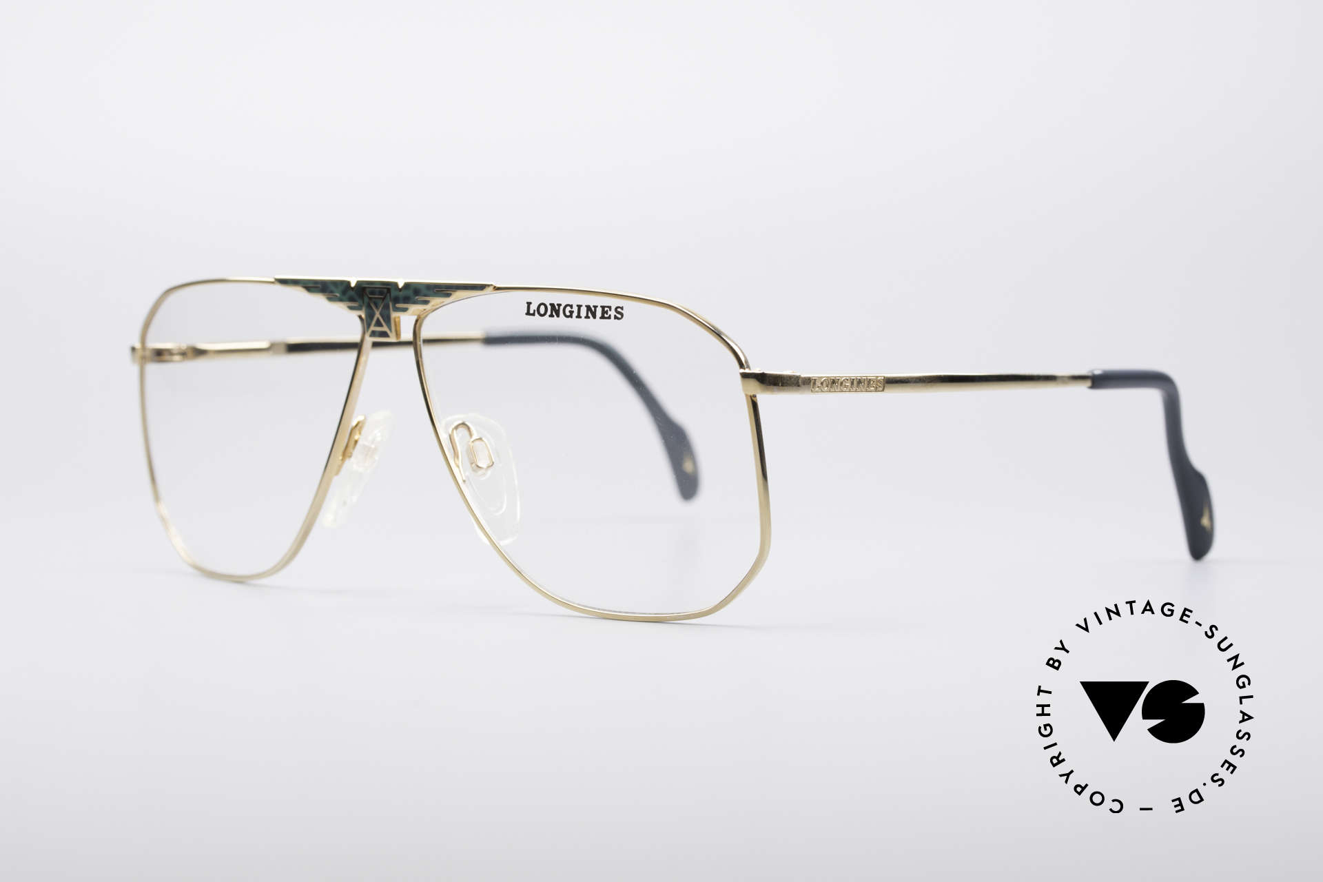 Longines 0155 80er Designer Fassung, für Longines im Traditionshaus Metzler produziert, Passend für Herren
