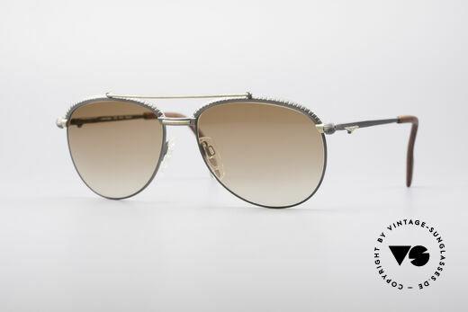 Longines 0161 80er Luxus Sonnenbrille Details