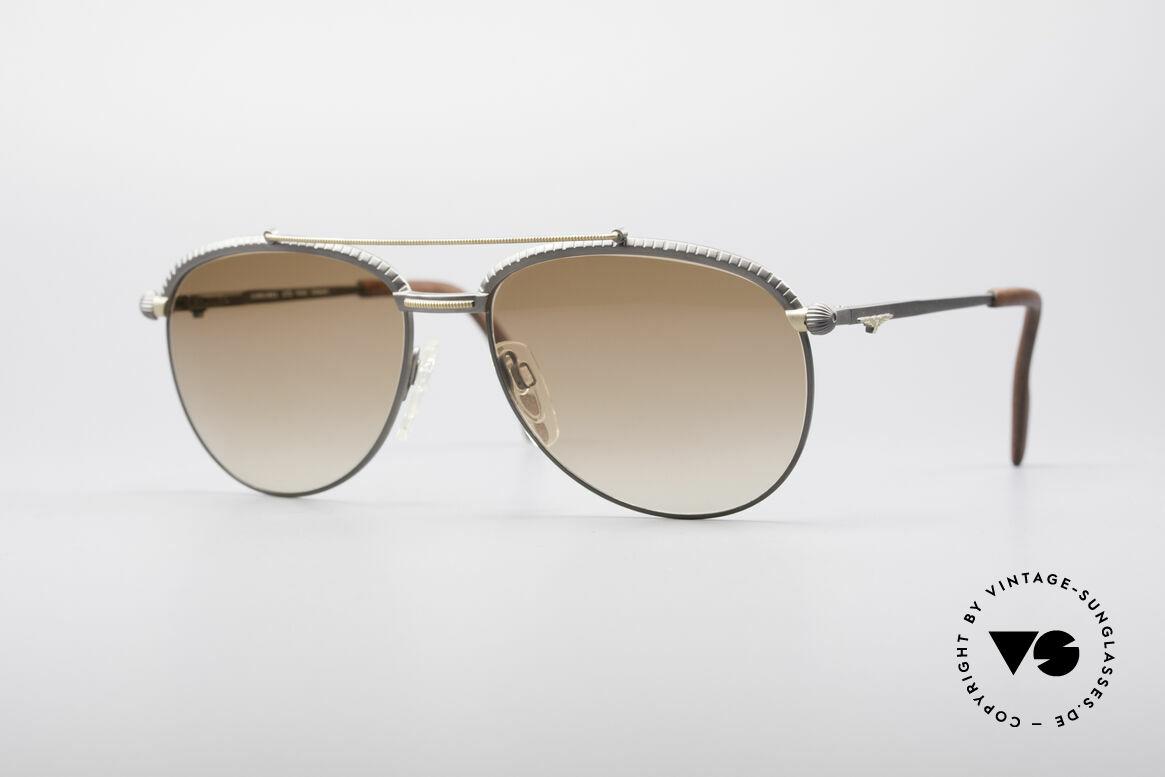 Longines 0161 80er Luxus Sonnenbrille, sehr edle LONGINES vintage Sonnenbrille der 1980er, Passend für Herren