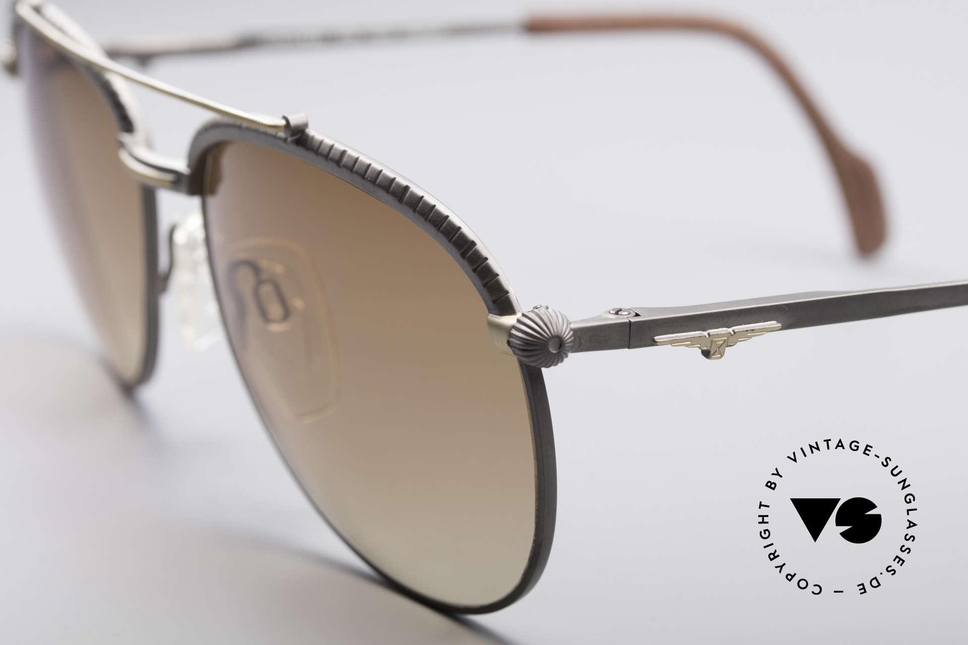 Longines 0161 80er Luxus Sonnenbrille, ungetragen (wie alle unsere alten LONGINES Unikate), Passend für Herren