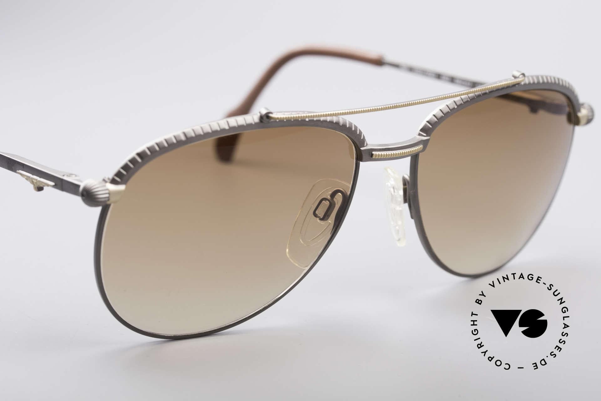 Longines 0161 80er Luxus Sonnenbrille, KEINE Retromode; ein circa 30 Jahre altes ORIGINAL!, Passend für Herren