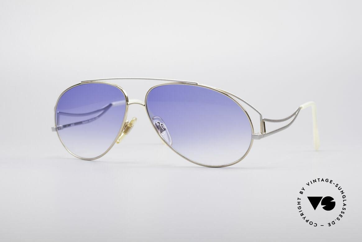 Zollitsch Radiant Industrial Designer Brille, außergewöhnliche vintage Sonnenbrille von Zollitsch, Passend für Herren