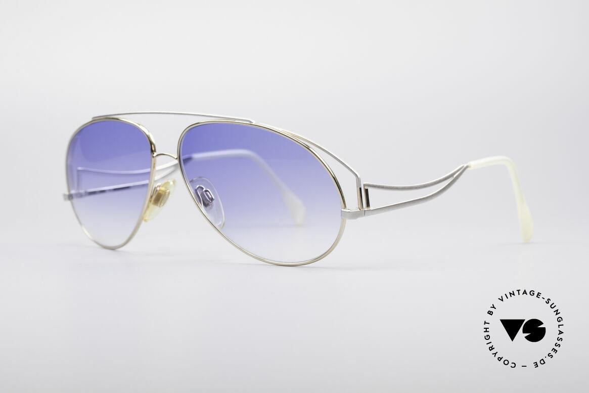 Zollitsch Radiant Industrial Designer Brille, daher wohl auch der Name 'Radiant' = ein Winkelmaß, Passend für Herren