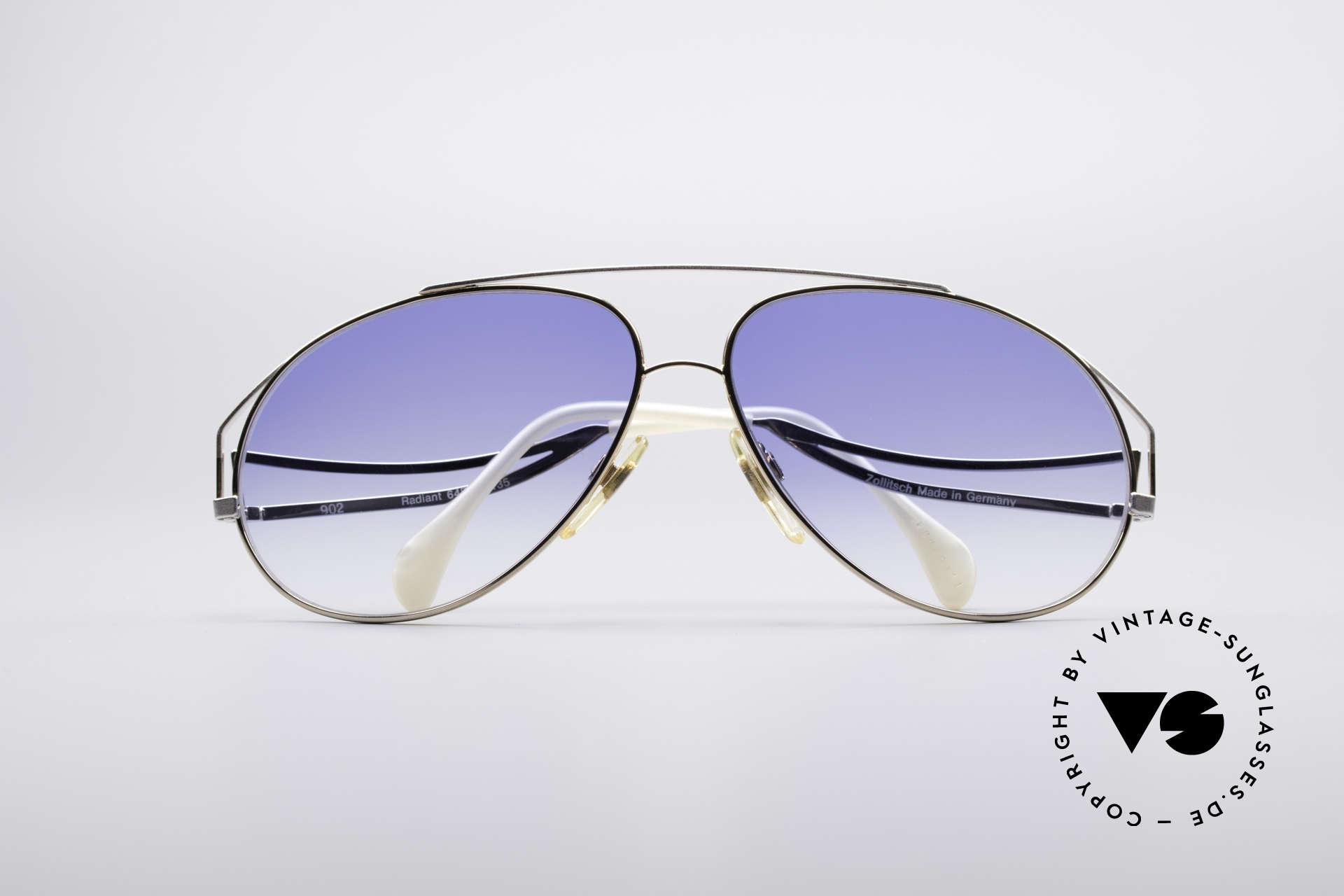 Zollitsch Radiant Industrial Designer Brille, Größe: large, Passend für Herren