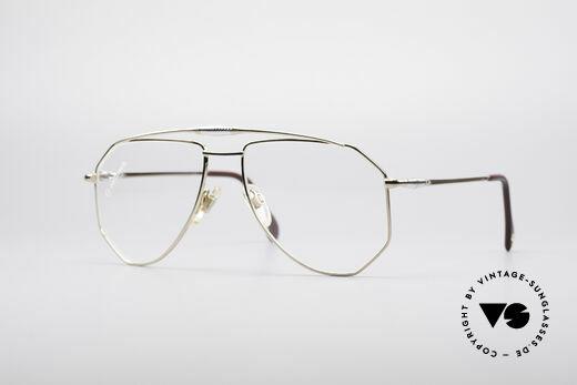 Zollitsch Cadre 120 Large 80er Pilotenbrille Details