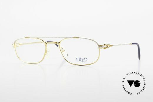 Fred Fregate Luxus Seglerbrille S Fassung Details