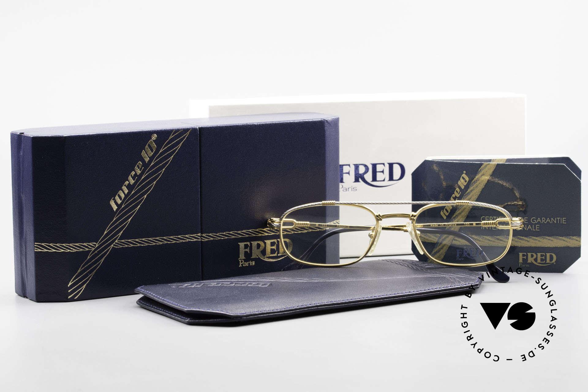 Fred Fregate Luxus Seglerbrille S Fassung, ungetragen, wie all unsere edlen vintage Brillengestelle, Passend für Herren