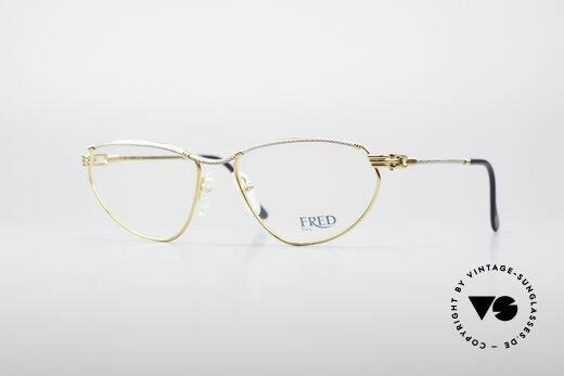Fred Alize Luxus S Brillenfassung Details