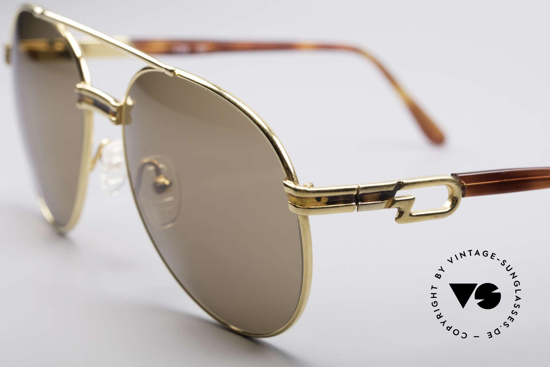 Derapage D2 Vintage No Retro Brille, ungetragen (wie all unsere Derapage vintage Klassiker), Passend für Herren