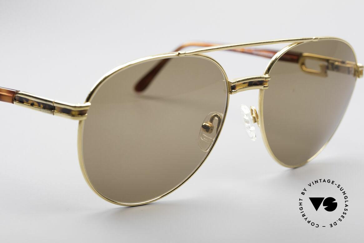 Derapage D2 Vintage No Retro Brille, KEINE RETROBRILLE, sondern ein 90er Jahre Original!, Passend für Herren