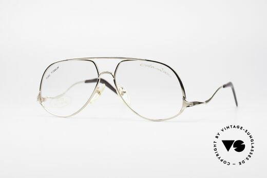 Colani 15-701 Kultige 80er Titanbrille Details