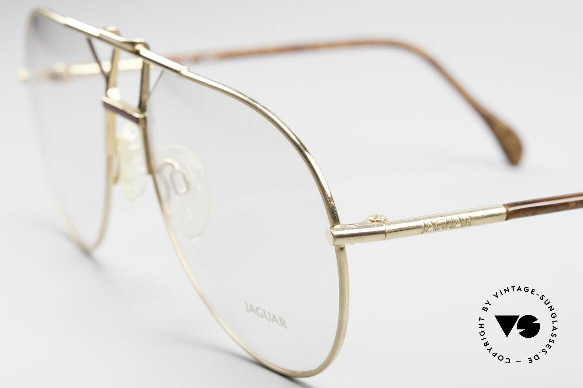 Jaguar 407 80er Luxus Accessoire, ungetragen (wie alle unsere Jaguar vintage Brillen), Passend für Herren