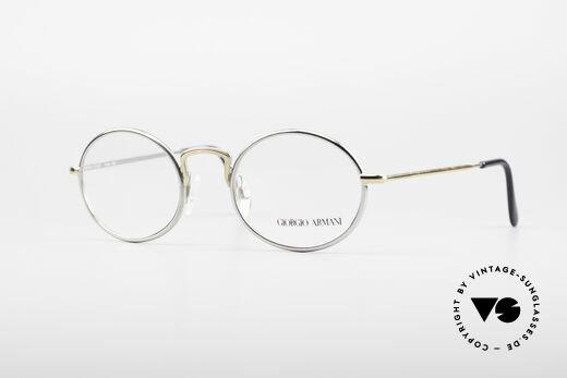Giorgio Armani 156 Ovale Vintage Brille Details